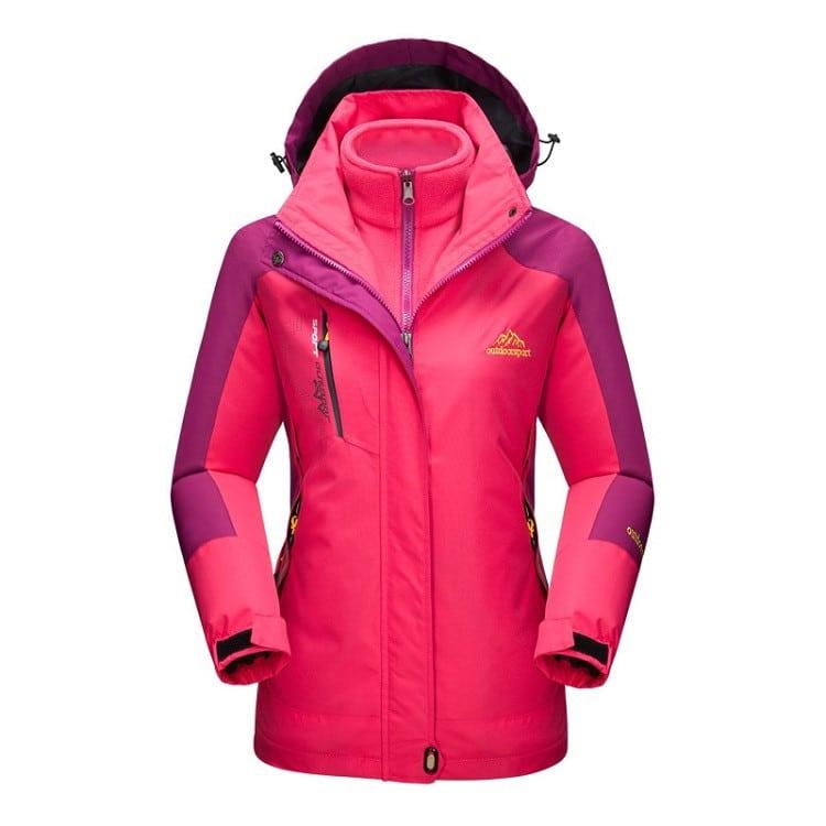 64125e134 Winter Inner Fleece Warm Outdoor Sports Coat
